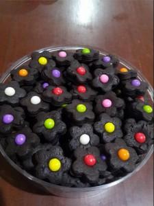 cara membuat kue kering coklat mini