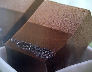 cara membuat puding busa coklat