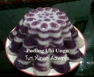 puding ungu